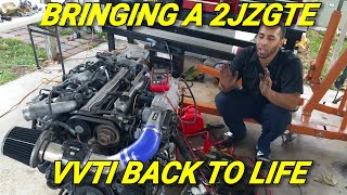 Download BRINGING A 2JZGTE VVTI BACK TO LIFE Video