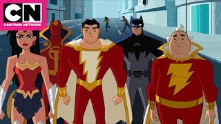 Download Justice League Action | Uncle Dudley Gets Power of Shazam! | Cartoon Network Video