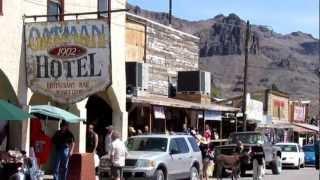 Download OATMAN ARIZONA ~ OLD MINING GHOST TOWN [HD] Video