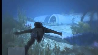 Download GTA V - Massive Underwater Plane Wreck | Commercial Airliner Video