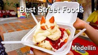 Download Colombian Food: The Best Colombian Street Food In Medellin Video
