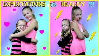 Download EXPECTATIONS vs REALITY of Having a Sibling Video