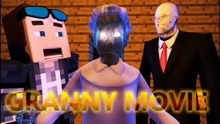 Download GRANNY IN MINECRAFT GAME (FULL HORROR MOVIE) Part 1 - Minecraft Animation Video