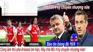 Download 💥Tin bóng đá 16/9 Công làm thủ phá Arsenal ôm hận, MU cần 4 kỳ chuyển nhượng nữa để cạnh tranh Video