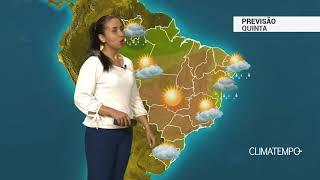 Download Previsão Brasil – Frente fria se aproxima do Sul Video