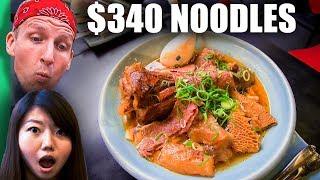 Download $3 Noodles VS $340 Noodles! (WORLD RECORD Breaking Bowl of Noodles!) Video
