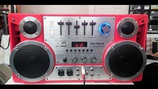 Download Review: DJ Tech Boombox WOW! Video