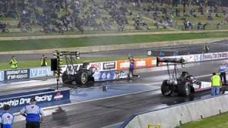 Download Top Fuel Drag 1/4 mile - 8000 HP - Kwinana Motorplex - Awesome Header Flames - December 2008 Video