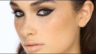 Download Dramatic Black 'Cat-Eye' Liner Makeup Tutorial Video