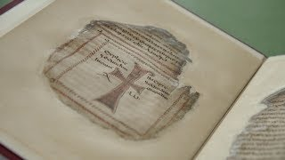 Download Codex Usserianius − one of four precious early Irish manuscripts conserved at Trinity Video