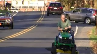 Download Riding a New John Deere Lawn Tractor Home, from Home Depot Video