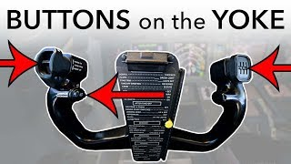 Download Aircraft YOKE (Steering wheel), how does it work? Video