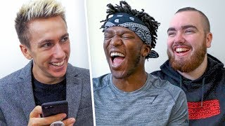 Download One Word Interview About Logan Paul Vs KSI Video