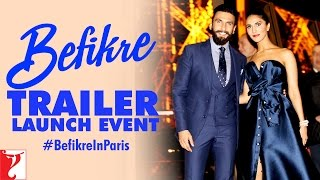 Download Befikre Trailer Launch Event at Eiffel Tower | Paris | Ranveer Singh | Vaani Kapoor Video