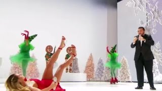Download OOOPS: Heidi Clum Slips & Falls on LIVE TV During Performance   America's Got Talent Holiday Show Video