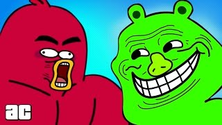 Download Angry Birds ENTIRE Storyline in 3 minutes! (Angry Birds Cartoon Animation) Video