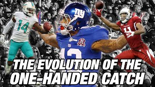 Download The Evolution of the One-Handed Catch | NFL Films Presents Video