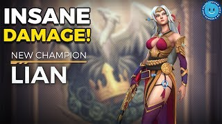 Download NEW PALADINS DAMAGE LIAN ARRIVES! RIFLE-WIELDING BEAUTY & DAMAGE IMMUNE?! PALADINS OB54! Video