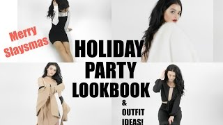 Download HOLIDAY PARTY LOOKBOOK| Merry Slaysmas! Ft. Lulus Video