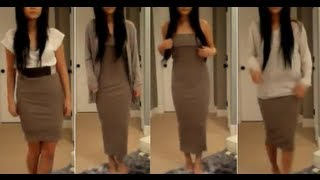 Download Fashion Ideas | Infinity scarf as a maxi dress! (plus 7 other ways to wear a scarf) Video