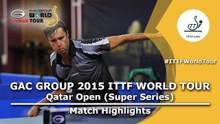 Download Qatar Open 2015 Highlights Dimitrij Ovtcharov Vs Vladimir Samsonov (FINAL) Video