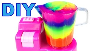 Download DIY How To Make Slime Clay Cocktail Mighty Toys Blender Compilation Video