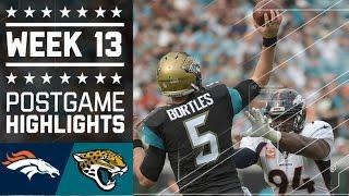 Download Broncos vs. Jaguars | NFL Week 13 Game Highlights Video