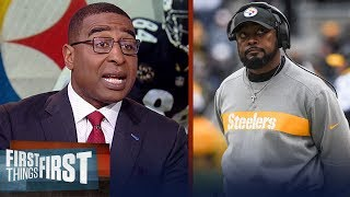 Download Cris Carter has a 'huge problem' with Antonio Brown, talk Tomlin's career | NFL | FIRST THINGS FIRST Video