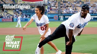 Download The Dodgers Train Kourtney Kardashian and Kevin Hart Video
