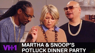Download Fat Joe & Kelis Join Snoop Dogg & Martha 'Sneak Peek' | Martha & Snoop's Potluck Dinner Party Video