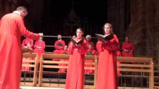 Download Ave Maria - Camille Saint-Saens, Chester Cathedral Choir Video