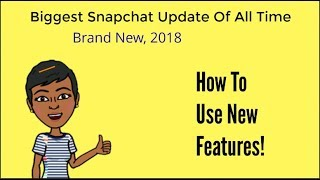 Download Huge Snapchat Update February 2018 Review - How To Use New Features Video