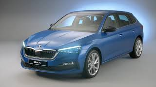 Download skoda scala studio footage Video