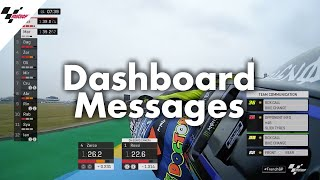 Download From Mapping 8 to Back to Box: Dashboard messages in MotoGP™ Video