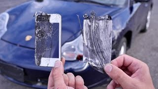 Download Using iPhones as Brake Pads Test - Can They Stop a 60MPH Porsche 911? Video