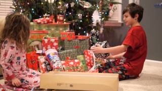 Download Kids Reaction Opening Presents on Christmas Day Video