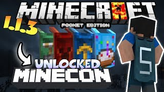 Download MINECRAFT PE 1.4 UNLOCKED CAPES - HOW TO UNLOCK MINECON CAPES IN MCPE 1.4.2 - USING FREE CODE Video