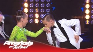 Download Ruby & Jonas - Kids Dance and Boogie to ″Runaway Baby″ by Bruno Mars - America's Got Talent 2013 Video