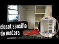 Download #closet #closetdemadera closet de madera sencillo haciendo 4 closets de madera Video