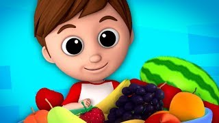 Download Luke & Lily - the fruits song   learn fruits   nursery rhymes   original song Video