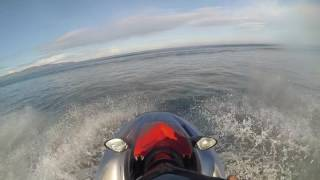 Download Yamaha EX in the surf Video