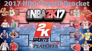 Download NBA PLAYOFFS SIMULATED IN NBA2K17!!! CRAZY (MUST WATCH) Video