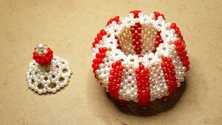 Download পুতির হাড়ি/পুতির জুয়েলারি বক্স/How to make beaded jewellery box Video