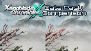 Download Xenoblade Chronicles X Data Pack Comparison Video