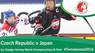 Download Czech Republic v Japan | Prelim | 2016 Ice Sledge Hockey World Championships B-Pool, Tomakomai Video