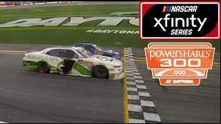 Download Closest Finish in NASCAR History (2018 PowerSharesQQQ 300) Video