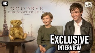 Download Will Tilston & Alex Lawther - Goodbye Christopher Robin Exclusive Interview Video