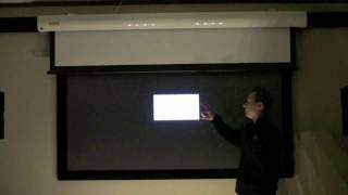 Download Black Projection Screen Video