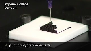 Download 3D printing graphene parts Video