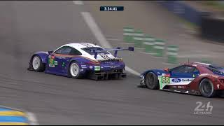 Download Bataille épique en LMGTE Pro entre Porsche et Ford - 24 Heures du Mans Video